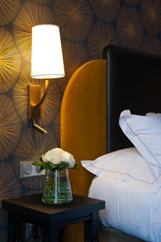 Photographie d'intérieur dans un hôtel à Caen