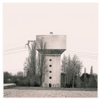 Projet Typologies à la manière de Bernd & Hilla Becher - Série N°1 Watertowers