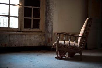 Photographie Urbex dans un château abandonné