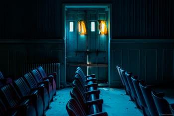 Photographie Urbex d'un théâtre dans un ancien hôpital