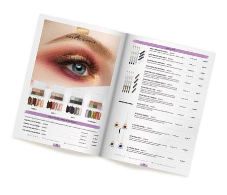 Mise en page automatisée du catalogue EM Pro Esthétique